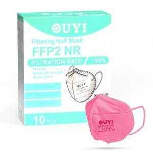 UYI OY-01 Respirátor FFP2 NR ružový 1ks/bal vyobraziť