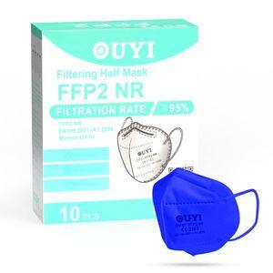 UYI OY-01 Respirátor FFP2 NR modrý 10ks/bal vyobraziť