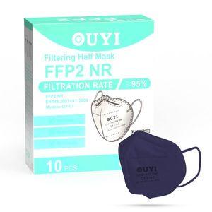 UYI OY-01 Respirátor FFP2 NR tmavofialový 1ks/bal vyobraziť