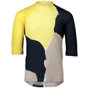 POC MTB Pure 3/4 Jersey Color Splashes Multi Sulfur Yellow S vyobraziť