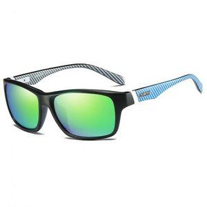 DUBERY Revere 2 slnečné okuliare, Black / Green vyobraziť