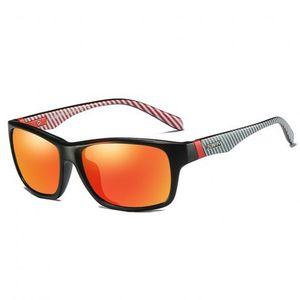 DUBERY Revere 4 slnečné okuliare, Black / Red vyobraziť