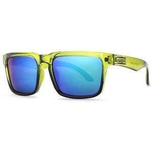 KDEAM Quincy 8 slnečné okuliare, Green / Green vyobraziť
