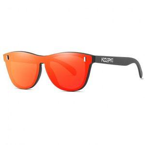 KDEAM Reston 5 slnečné okuliare, Black / Red vyobraziť