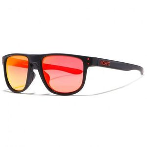 KDEAM Enfield 3 slnečné okuliare, Black / Orange vyobraziť