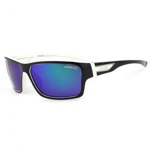 KDEAM Sanford 6 slnečné okuliare, Black / Blue vyobraziť