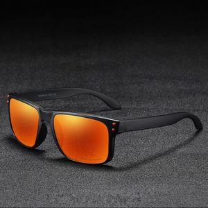 KDEAM Trenton 4 slnečné okuliare, Black / Orange vyobraziť