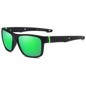 KDEAM Oxford 3 slnečné okuliare, Black / Green vyobraziť
