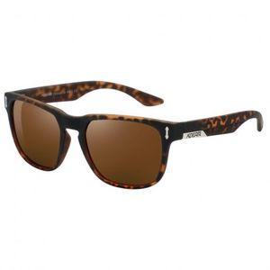 KDEAM Andover 2 slnečné okuliare, Leopard / Brown vyobraziť