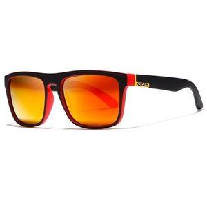 KDEAM Sunbury 4 slnečné okuliare, Black / Red vyobraziť