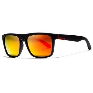 KDEAM Sunbury 13-1 slnečné okuliare, Black / Red vyobraziť