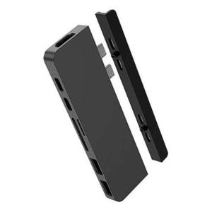 Hyper USB-C Hub HyperDrive Duo 7-in-2 - Space Gray HY-HD28C-GRAY vyobraziť