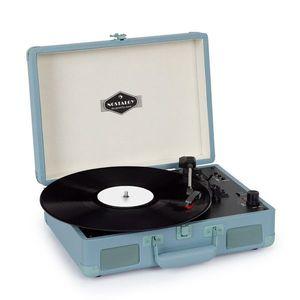 Auna Peggy Sue BT, gramofón, stereo reproduktor, USB, BT, prenosný vyobraziť