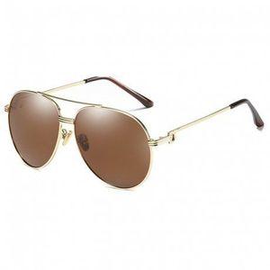 NEOGO Lamont 2 slnečné okuliare, Gold / Brown vyobraziť