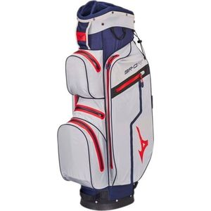 Mizuno BR-DRI Waterproof Cart Bag Blue/Silver/Red vyobraziť
