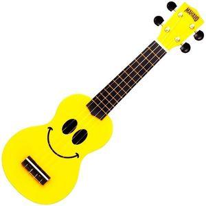Mahalo U-SMILE Sopránové ukulele Žltá vyobraziť