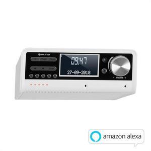 Auna Intelligence DAB+, kuchynské rádio, hlasové ovládanie Alexa, Spotify, bluetooth, biele vyobraziť