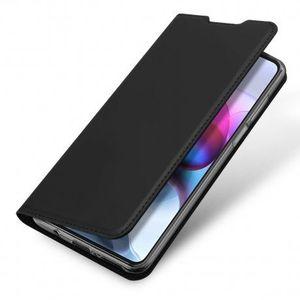 DUX DUCIS Skin Pro knižkové kožené puzdro na Motorola Moto G100 / Edge S, čierne vyobraziť