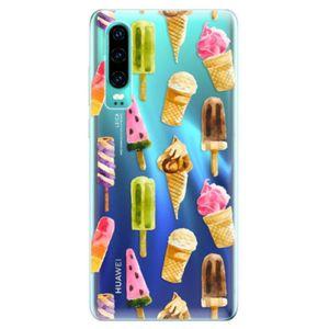 Odolné silikonové pouzdro iSaprio - Ice Cream - Huawei P30 vyobraziť