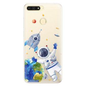Silikónové puzdro iSaprio - Space 05 - Huawei Honor 7A vyobraziť