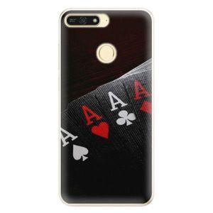 Silikónové puzdro iSaprio - Poker - Huawei Honor 7A vyobraziť