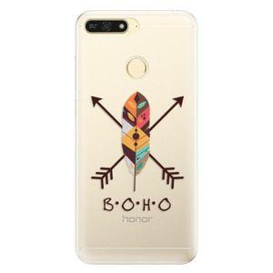 Silikónové puzdro iSaprio - BOHO - Huawei Honor 7A vyobraziť