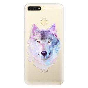 Silikónové puzdro iSaprio - Wolf 01 - Huawei Honor 7A vyobraziť