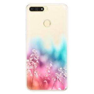 Silikónové puzdro iSaprio - Rainbow Grass - Huawei Honor 7A vyobraziť