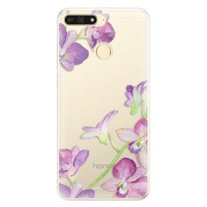 Silikónové puzdro iSaprio - Purple Orchid - Huawei Honor 7A vyobraziť