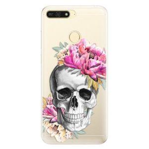 Silikónové puzdro iSaprio - Pretty Skull - Huawei Honor 7A vyobraziť