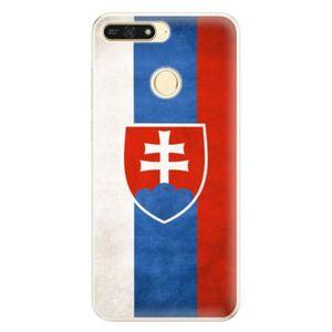 Silikónové puzdro iSaprio - Slovakia Flag - Huawei Honor 7A vyobraziť