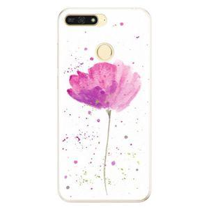 Silikónové puzdro iSaprio - Poppies - Huawei Honor 7A vyobraziť