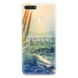 Silikónové puzdro iSaprio - Beginning - Huawei Honor 7A vyobraziť