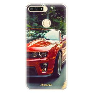 Silikónové puzdro iSaprio - Chevrolet 02 - Huawei Honor 7A vyobraziť