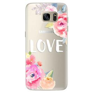 Silikónové puzdro iSaprio - Love - Samsung Galaxy S7 vyobraziť