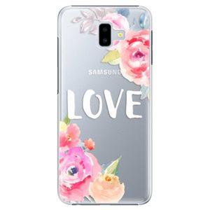 Plastové puzdro iSaprio - Love - Samsung Galaxy J6+ vyobraziť