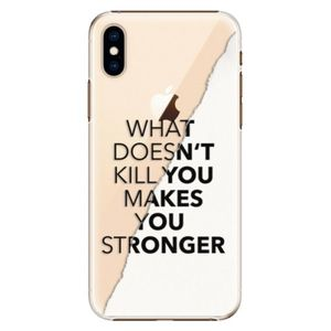 Plastové puzdro iSaprio - Makes You Stronger - iPhone XS vyobraziť