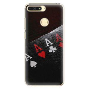 Plastové puzdro iSaprio - Poker - Huawei Honor 7A vyobraziť