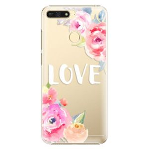 Plastové puzdro iSaprio - Love - Huawei Honor 7A vyobraziť