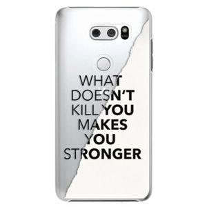 Plastové puzdro iSaprio - Makes You Stronger - LG V30 vyobraziť