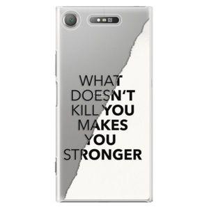 Plastové puzdro iSaprio - Makes You Stronger - Sony Xperia XZ1 vyobraziť