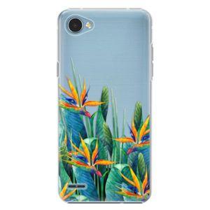 Plastové puzdro iSaprio - Exotic Flowers - LG Q6 vyobraziť