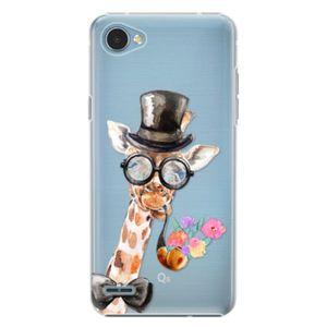 Plastové puzdro iSaprio - Sir Giraffe - LG Q6 vyobraziť