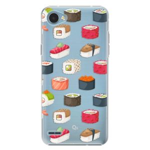 Plastové puzdro iSaprio - Sushi Pattern - LG Q6 vyobraziť