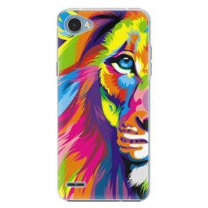 Plastové puzdro iSaprio - Rainbow Lion - LG Q6 vyobraziť