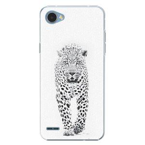 Plastové puzdro iSaprio - White Jaguar - LG Q6 vyobraziť