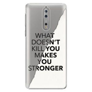 Plastové puzdro iSaprio - Makes You Stronger - Nokia 8 vyobraziť