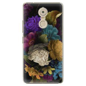 Plastové puzdro iSaprio - Dark Flowers - Lenovo K6 Note vyobraziť