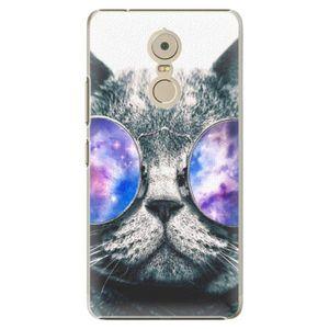 Plastové puzdro iSaprio - Galaxy Cat - Lenovo K6 Note vyobraziť