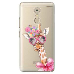 Plastové puzdro iSaprio - Lady Giraffe - Lenovo K6 Note vyobraziť